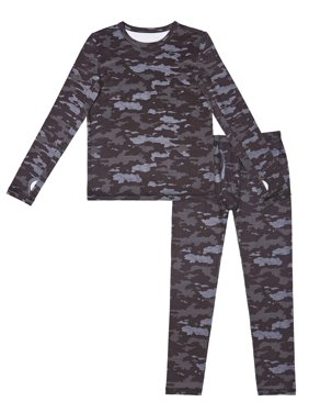 Climate Right Boys Thermal Underwear Sueded Polycore Set, (Little Boys & Big Boys)