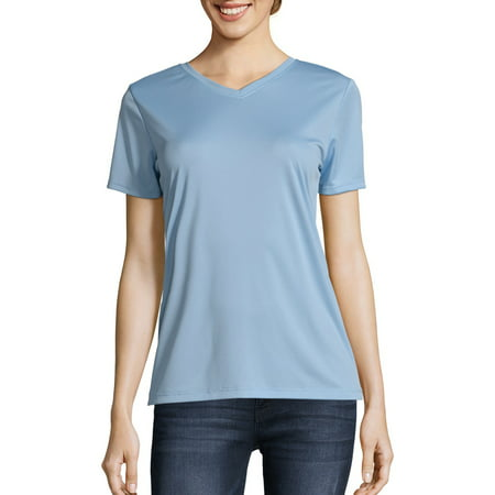 Sport Women's Cool DRI Performance V-neck T-Shirt (50+ - Little Mermaid Shirt Women's