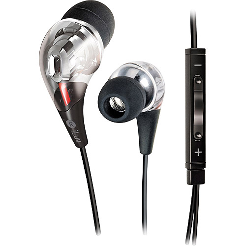 iLuv Premium In-Ear Earphones w/ iPhone/iPod Remote and Microphone