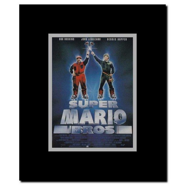 mario bros movie poster