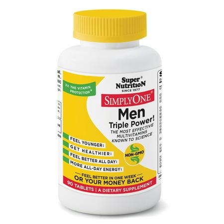 Nutrition Men (Super Nutrition Simply One Men 90)