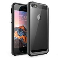 iPhone SE Case, SUPCASE Unicorn Beetle Style Series Premium Hybrid Protective Clear Case Protector for Apple iPhone SE/iPhone 5S / iPhone 5 (Black)