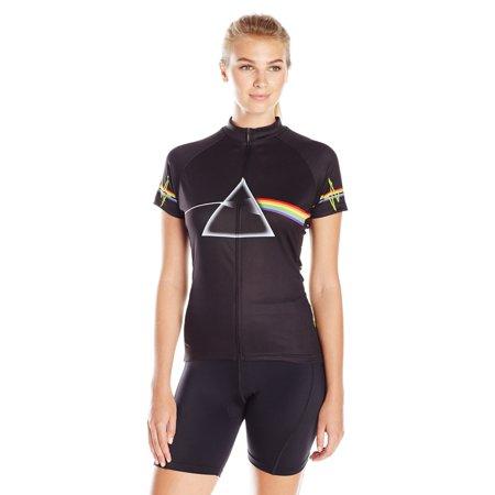 Primal Wear Women's Pink Floyd Dark Side Jersey Black Medium ()