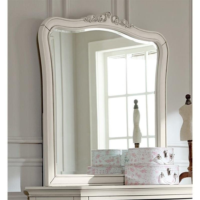 Rosebery Kids Dresser Mirror in Antique White