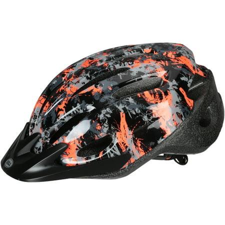 Bell Sports Blast Bug Camo Child Bike Helmet, Black/Red ()