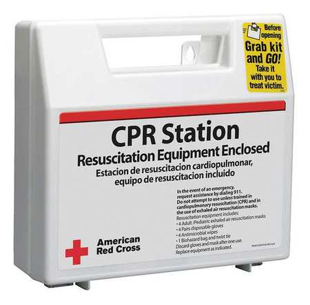 CPR Kit, Corrugate Case, Bulk, 17 Pcs. FIRST AID ONLY 9145-RC-RHGR