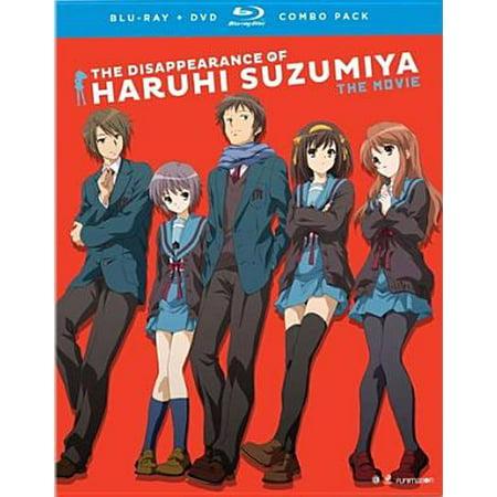 (The Disappearance of Haruhi Suzumiya: The Movie (Blu-ray + DVD))
