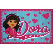 "Fun Rugs Nickelodeon Dora Kids Rugs 19"" x 29"" Rug"