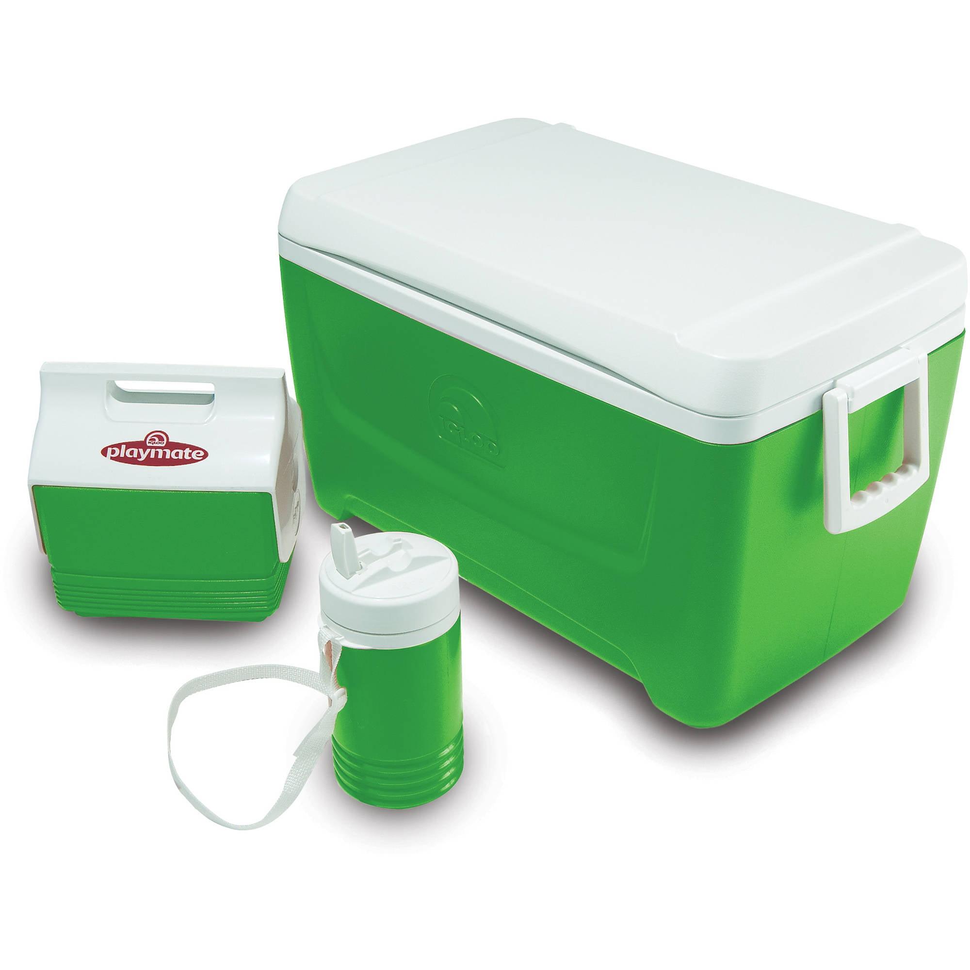 Igloo 48-Quart IB Cooler with Playmate Mini and Legend 1-Quart Jug