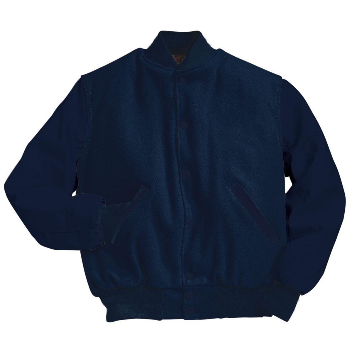 Holloway Varsity Tall Wool Jacket Black 3Xl - image 1 of 1