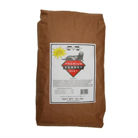 Marshall Pet Products Premium Ferret Food, 18 Lb