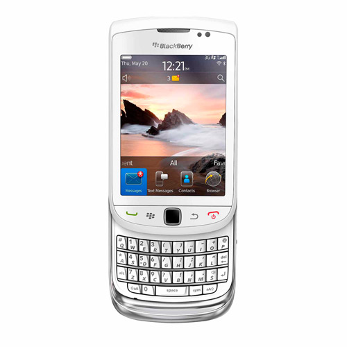 BlackBerry Torch 9810 Smartphone (Unlocked), White