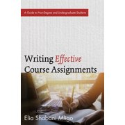 Writing Effective Course Assignments - eBook
