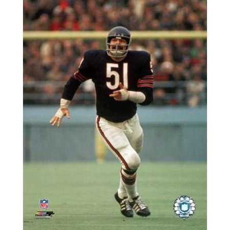 Dick Butkus Action Photo Print Dick Butkus Signed Photo