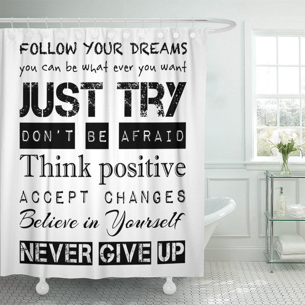 PKNMT Inspirational Motivational Quotes Follow Your Dreams