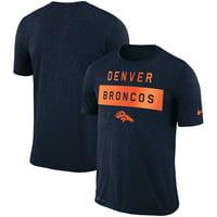 ecc21585 Product Image Denver Broncos Nike Sideline Legend Lift Performance T-Shirt  - Navy