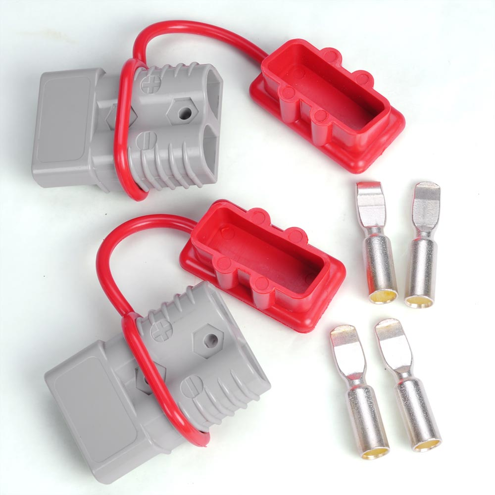 Yescom 600V 175 Amps Battery Quick Disconnect Connector Plug Kit ...