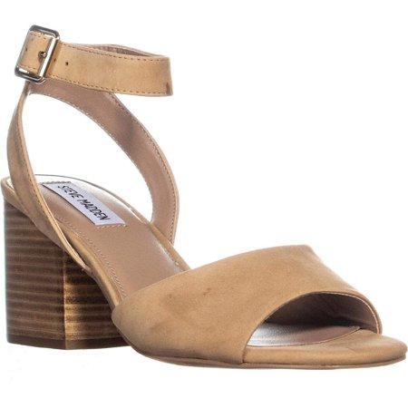 7c2fda712d8 Steve Madden Womens Devlin Leather Peep Toe Casual Ankle - image 1 of 2 ...