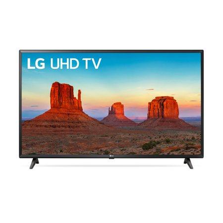 "LG 43"" Class 4K (2160P) Ultra HD Smart LED HDR TV 43UK6090PUA"