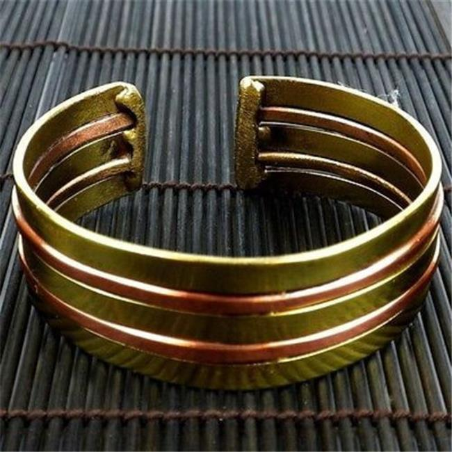 Brass Images Copper & Brass Architecture Cuff