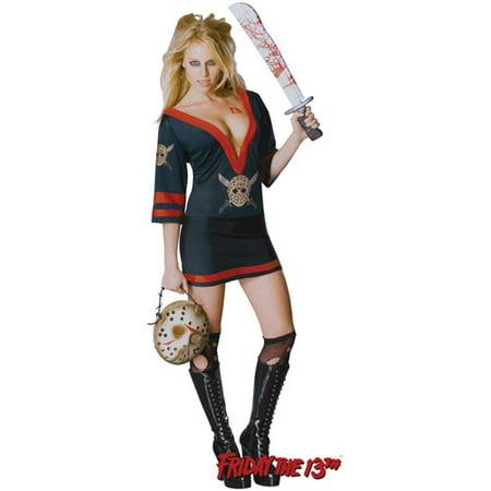 Miss Voorhees Adult Halloween Costume, Size: Women's - One - Jason Halloween Costume Women