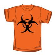 Novelty Men's T-shirt Medium Orange