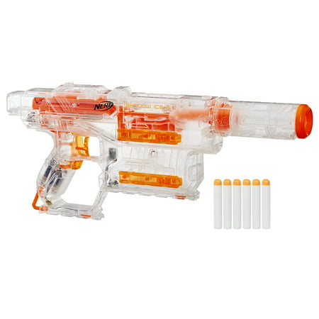 Nerf Modulus Ghost Ops Shadow ICS-6, Ages 8 and