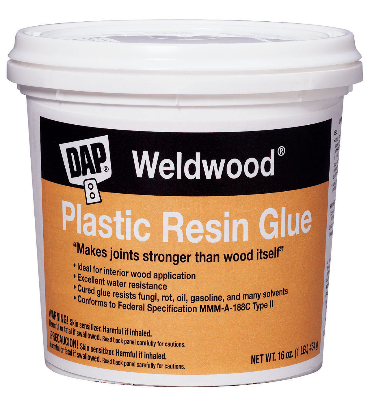 Dap Weldwood 203 1 lb. Plastic Resin Wood Glue