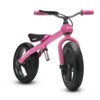 Joovy Bicycoo Pedal-less Toddler Balance Bike Balance, Without the Training Wheels, Pink
