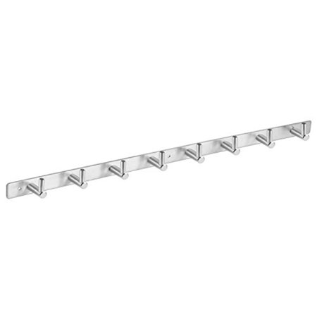 Amzdeal Coat Hook Rack Wall Mounted Rail Nbsp