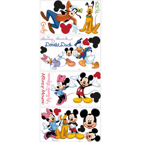 RoomMates Mickey and Friends Peel and Stick Wall Decal