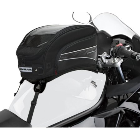 Nelson Rigg Strap Mount Tank - Nelson-Rigg CL-2016-ST CL-2016 Journey XL Tank Bag with Strap Mounts