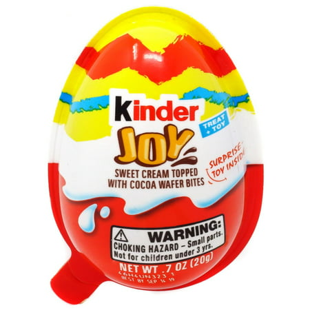Kinder Joy Easter Chocolate Surprise Egg