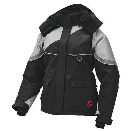 STRIKER ICE Women's Prism Jacket, Color: Black/Gray - Prism Iced