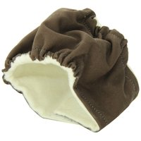 Seasonals Washable Belly Band/Diaper, Fits X-Small Dogs, Brown