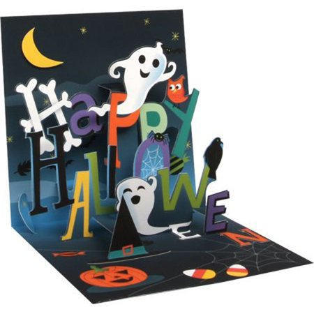 Up With Paper Happy Halloween Pop-Up Halloween - Happy Halloween Card