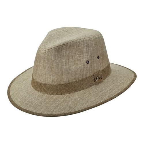 Men's Tommy Bahama TBW224 Linen Safari Hat by Dorfman Pacific