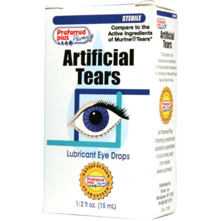 Artificial Tears Ophthalmic Solution - Artificial Tears Lubricant Eye Drops 15 ml