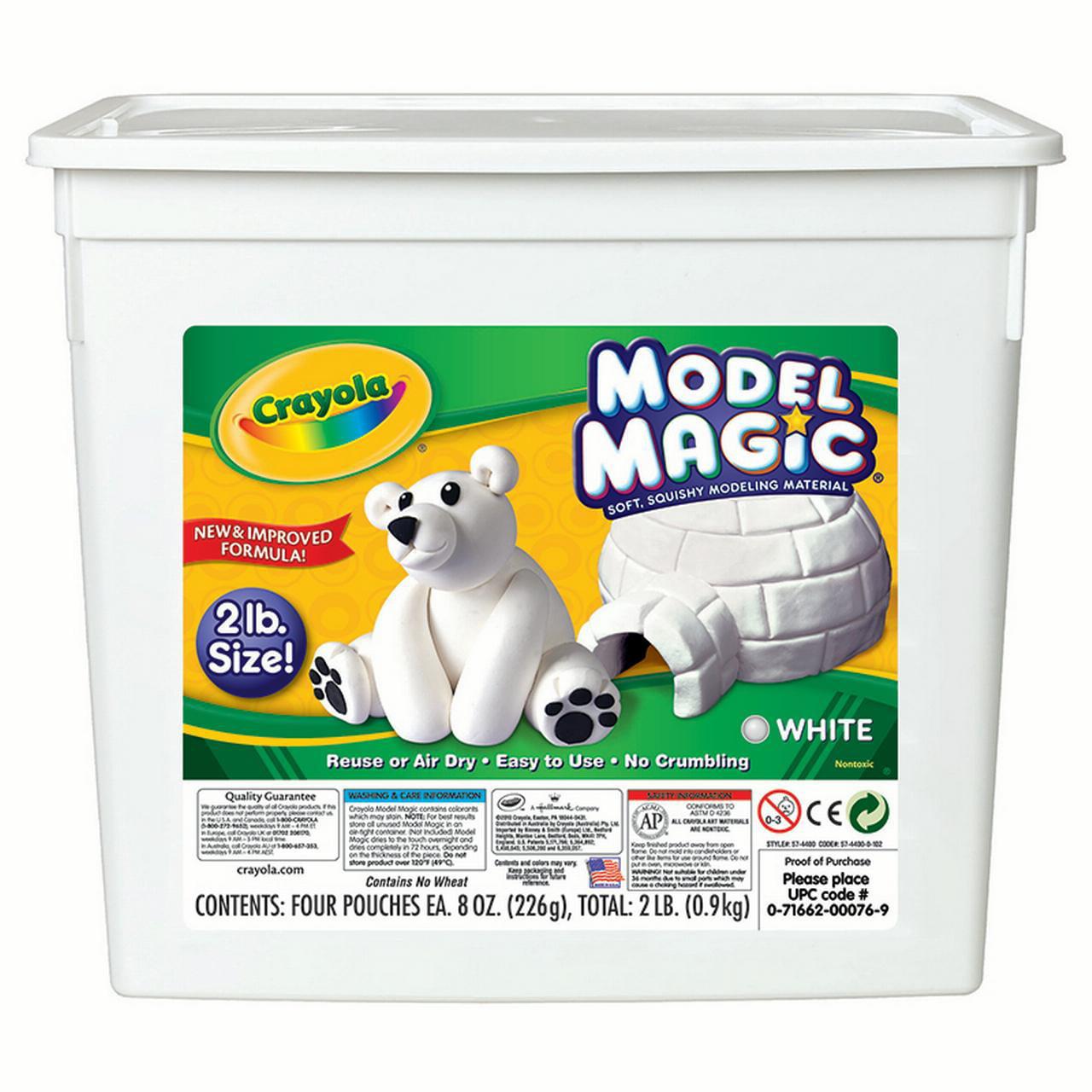 Crayola Model Magic, 2 lb Tub, White
