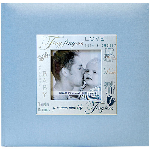 "MBI Fabric Expressions Photo Album, 8-1/2"" x 8-1/2"""