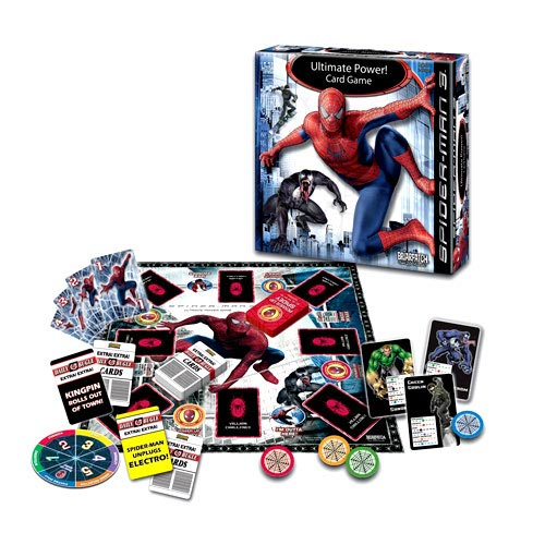 Briarpatch Spider-Man Ultimate Power Card Game Spiderman Family Fun