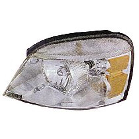 Go-Parts OE Replacement for 2004 - 2007 Ford Freestar Front Headlight Assembly Housing / Lens / Cover - Left (Driver) 7F2Z13008B FO2502203 Replacement For Ford Freestar 2004 Ford Freestar Parts