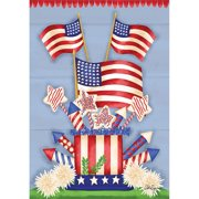"""Well Street by Lang """"American Flag"""" Large Flag, 28"""" x 40"""""""