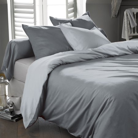 Ultra Soft Egyptian Comfort Deep Pocket Microfiber Ultra Soft Wrinkle Free Sheet Set - King - Gray ()