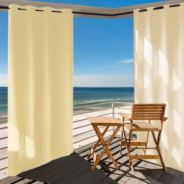 Sx Outdoor Curtain Panel For Patio