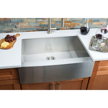 Hahn Farmhouse Medium Single Bowl Sink