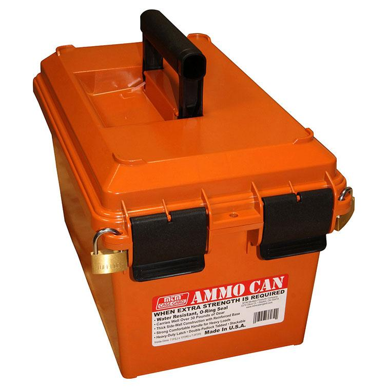 Mtm Ammo Can For Bulk Ammo Orange