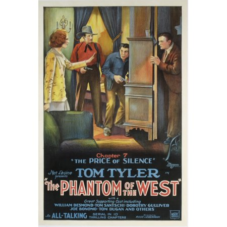 The Phantom Of The West Tom Tyler 1931 Chapter 7 The Price Of Silence Movie Poster Masterprint