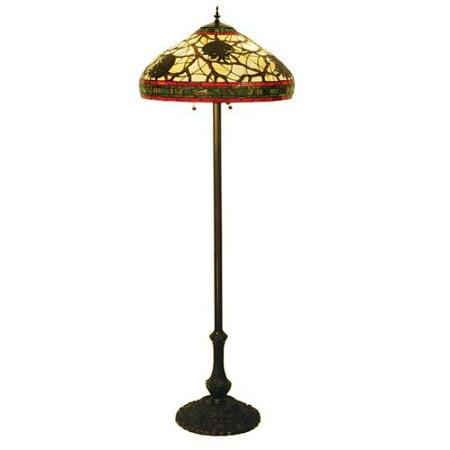 Meyda Tiffany 103185 Three Light Floor Lamp