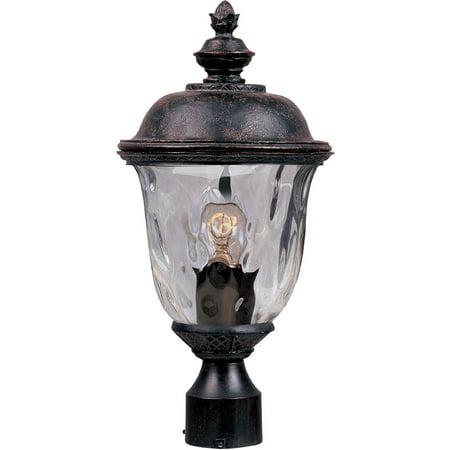 Outdoor Post Light Bulb Fixture 1 Light Bulb Fixture With Oriental Bronze Finish Die Cast Aluminum Material Medium Bulbs 9 inch 100 Watts